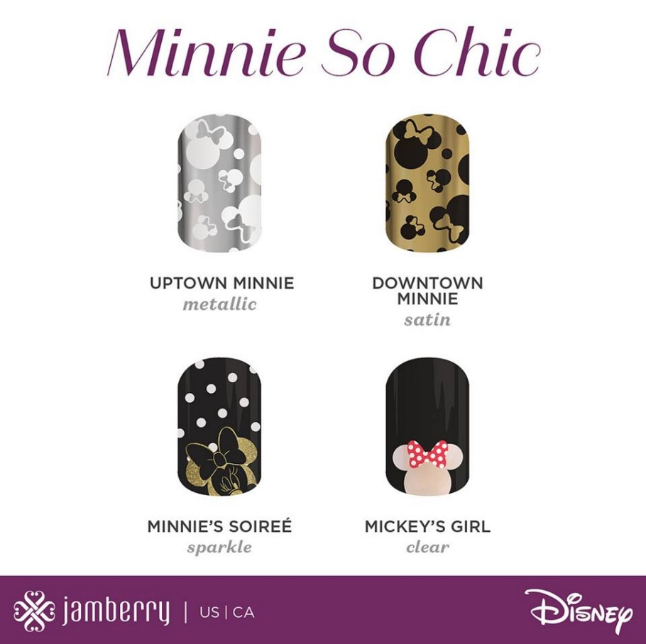 Disney Partners with Jamberry for a New Collection of Nail Wraps ...
