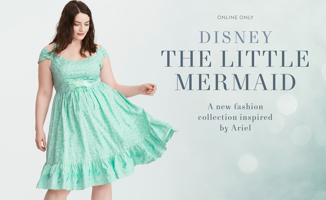 1e92f7880263c One of the things I love most about Torrid (besides the size selections and  quality) is their Disney collections. At least a couple times a year